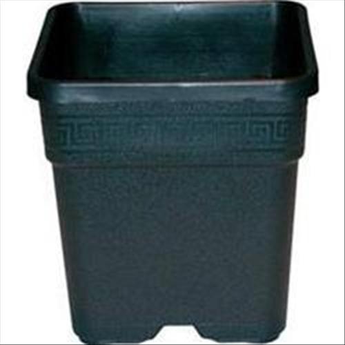 Vasi Neri In Plastica.Vasi E Sottovasi Vasi Quadrati Vaso Quadrato In Plastica Nero